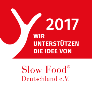We support Slow Food Deutschland e.V.